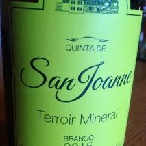 Terroir Mineral Branco 2015
