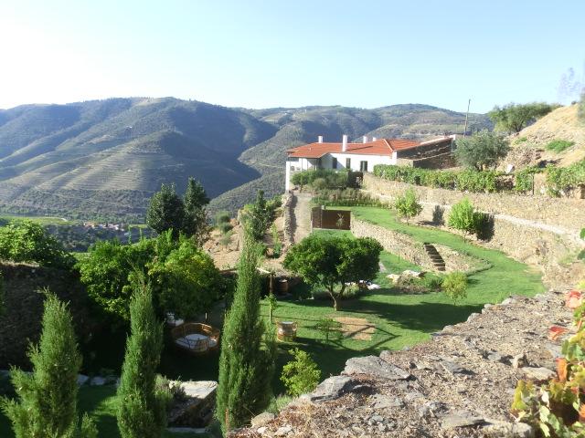 Vista geral da Quinta da Gricha