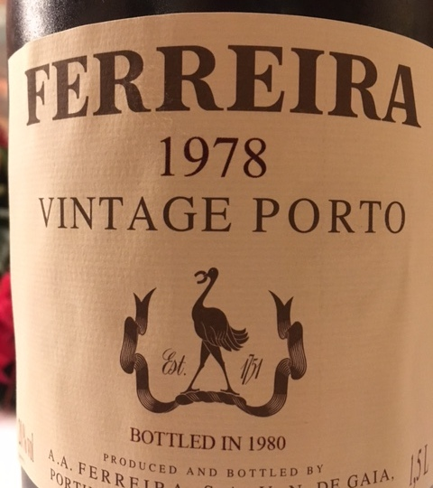 Ferreira Vinho do Porto Vintage 1978