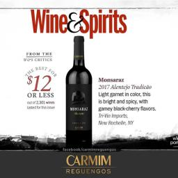 CARMIM é Best Buy para a Wine & Spirits