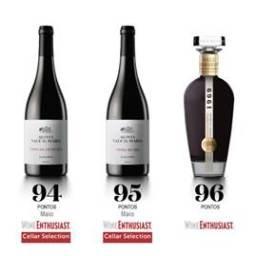 Vinhos da Quinta Vale D. Maria distinguidos nos EUA pela Wine Enthusiast