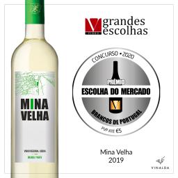 Mina Velha Branco 2019 distinguido com 'Prémio Escolha do Mercado'