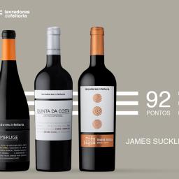 Vinhos do Douro: 5 tintos da Lavradores de Feitoria com pontuações entre os 92 e os 90 pontos